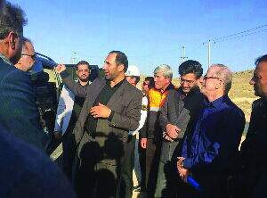 بازدید معاون وزیر راه و شهرسازی از پروژه های راهداری و حمل ونقل جاده ای استان فارس