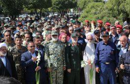 بزرگترین صبحگاه فرهنگی، رزمی صنعت فولاد ایران در ذوب آهن اصفهان برگزارشد