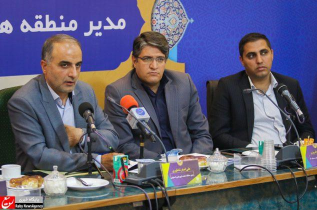 نشست خبری مدیر منطقه ۷ شهرداری اصفهان