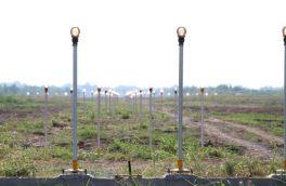 عملیات برقراری روشنایی بلوار ۲۴ متری کمربندی آبیدر سنندج اجرا شد