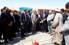 کلنگ احداث یکهزار واحد مسکونی در شاهینشهر به زمین زده شد