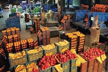 میوه ارزان می شود +جدول