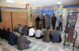 تقدیر از فعالان نمازجماعت در مخابرات منطقه آذربایجان غربی