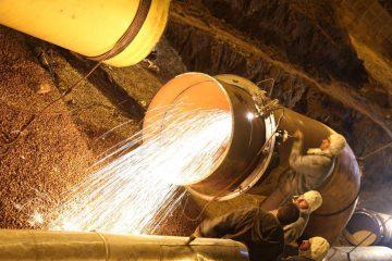 آمار ساعات کار بدون حادثه در منطقه ۸ عملیات انتقال گاز