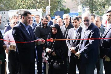 افتتاح مجموعه ورزشی جدید شرکت توزیع نیروی برق تهران بزرگ