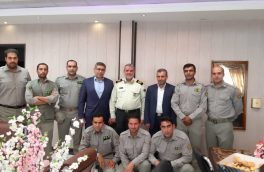 دیدار مدیرکل حفاظت محیط زیست لرستان با فرماندهی نیروی انتظامی استان