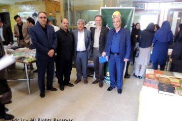برپایی نمایشگاه کتاب در شرکت توزیع نیروی برق استان لرستان