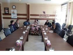 برگزاری جلسه همکاریهای مشترک آموزشی در شهرک صنعتی شماره ۲ خرم آباد