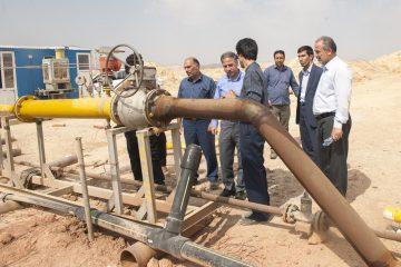 بازدید سرپرست شرکت گاز استان لرستان از خطوط و تاسیسات آسیب دیده سیل