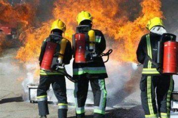 اجرای ۴۹ عملیات اطفاء حریق در شهر چادگان