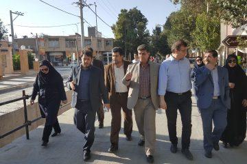 اجرای چهار پروژه عمرانی توسط شهرداری در خیابان امام خمینی(ره)