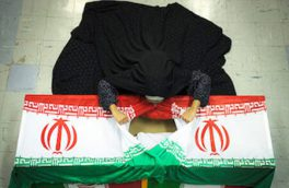 وداع با پیکر شهید مدافع امنیت در شاهینشهر