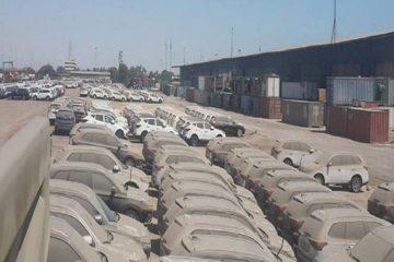 خودروهای دپوشده همچنان خاک میخورند!
