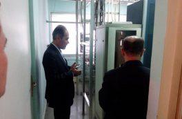 بازدید سرپرست مخابرات منطقه آذربایجان غربی از اداره مخابرات نقده