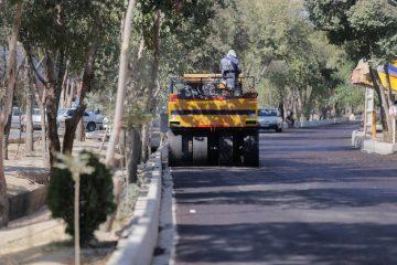 پیشرفت ۸۰ درصدی احداث خیابان مصلی