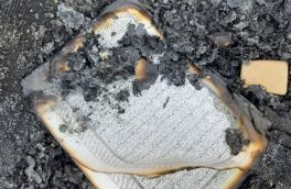 اغتشاشگران حرمت کتاب خدا را هم شکستند/ آتش زدن قرآنها در شهر قدس و کازرون + تصاویر