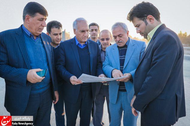 بازدید مدیرعامل شرکت توزیع برق شهرستان اصفهان از پروژههای عمرانی