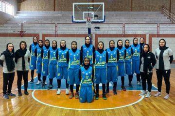 درخشش بانوان بسکتبالیست های استان در لیگ برتر