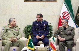 فرمانده ارتش پاکستان با سرلشکر موسوی دیدار کرد