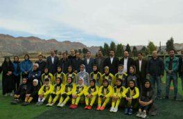 تیم فوتبال بانوان پالایش گاز ایلام نمادی از توانمندی و پتانسیل ورزشی بانوان استان است