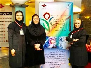 درخشش بانوان برق منطقهای خوزستان در اولین جشنواره داراییهای فکری بانوان وزارت نیرو