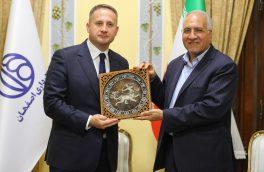تشکر سفیر لهستان از شهردار اصفهان به خاطر برپایی نمایشگاه گرافیک لهستانیها