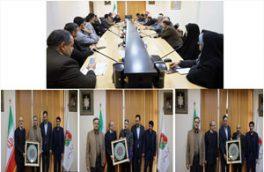 دیدار رئیس سازمان با جمعی از اعضای بسیج
