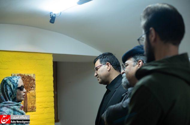 نمایشگاه نقاشی روشن دل مرضیه بیدقی