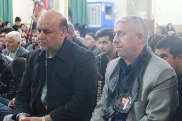 حضور فرماندار شهریار در مراسم گرامیداشت شهید سردار سلیمانی