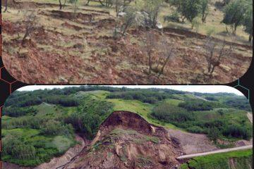 برنامه ریزی برای جلوگیری از زمین لغزش در سطح اراضی جنگلی و مرتعی استان