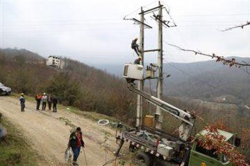 ۱۳۵ کیلومتر شبکه فشار متوسط در توزیع برق مازندران مقاوم سازی شد