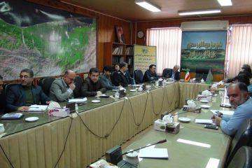 برگزاری جلسه طرح توانمند سازی در اداره کل منابع طبیعی و آبخیزداری مازندران- ساری
