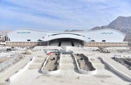 پیشرفت ۸۶درصدی پروژه نمایشگاه بینالمللی اصفهان