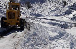 با وجود وقوع سیل در جنوب سیستان و بلوچستان، بارش رحمت الهی منطقه کوهستانی تفتان را سفید پوش کرد