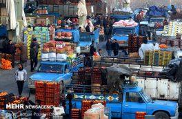 عرضه ۵۳ هزار تن سیب و پرتقال شب عید