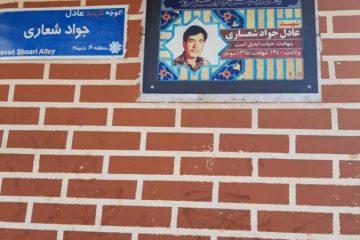 ۷۰ تمثال شهید در منطقه ۱۹ تعویض شد