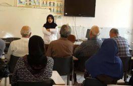 برگزاری دوره آموزشی ویژه سالمندان تحت حمایت شهری و روستایی منطقه یک