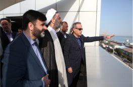 بازدید رئیس سازمان بازرسی کل کشور از بندر بوشهر