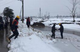 ۵ اکیپ عملیاتی دیگر به مناطق برف زده گیلان اعزام شدند