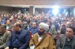 حضور مدیر مخابرات منطقه گلستان در مراسم افتتاح پروژههای شهرستان مینودشت به مناسبت دهه مبارک فجر