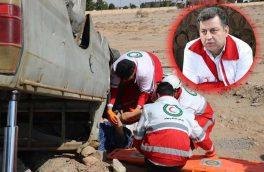امدادرسانی هلال احمر استان یزد به ۶۳۷ مورد حادثه