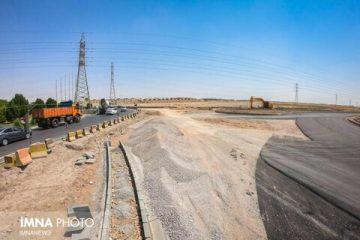 پیشرفت ۸۳ درصدی پروژه ادامه بلوار فرزانگان
