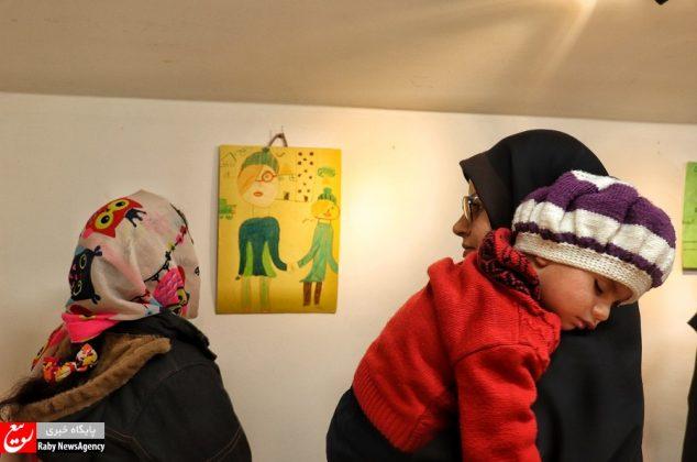 نمایشگاه نقاشی کودکان بی سرپرست