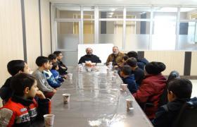نشست آموزشی نماز ویژه فرزندان پرسنل آبفای منطقه چهار