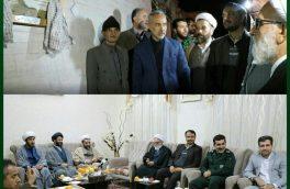 رونمایی از تمثال شهیدان محمود جهانشیر، مجید طالب بیدختی و سید جلال کیاء در سمنان