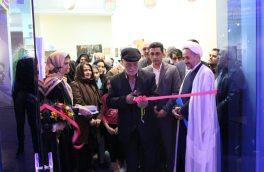 """نمایشگاه نقاشی """"پلاک عشق"""" در شاهرود افتتاح شد"""