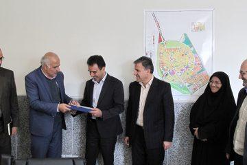 معارفه رییس جدید تأمین اجتماعی شعبه شهرستان دلیجان