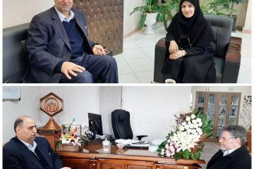 دیدار مدیر کل تعاون، کار و رفاه اجتماعی آذربایجان شرقی با مدیران کل بهزیستی و مدیریت درمان