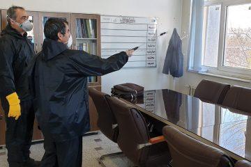 تمامی مراقبتهای لازم برای مقابله با کرونا در آبفای استان زنجان اعمال شده است