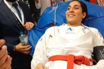 حمیده عباسعلی در خطر از دست دادن المپیک!